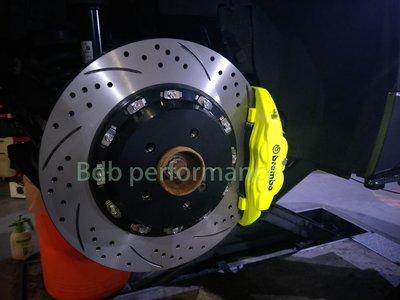 邦德堡國際 奧迪AUDI A3 A4 A5 A6 A7 A8 前大四活塞煞車組 雙片式浮動碟 可另購後加大碟組