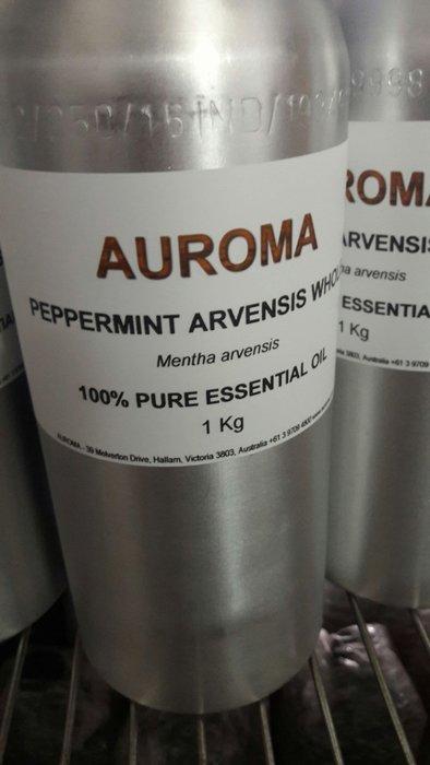 AUROMA100%歐薄荷 100分裝瓶