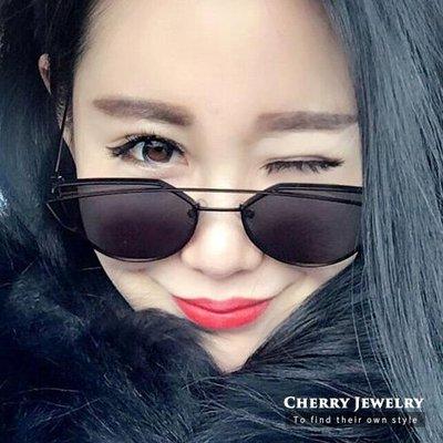 方形個性反光太陽眼鏡 墨鏡 【櫻桃飾品】【10362】