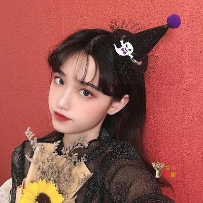 萬聖節飾品 2019年妝容道具帽子頭箍大人裝扮髮箍禮物南瓜燈頭飾髮飾品 2色