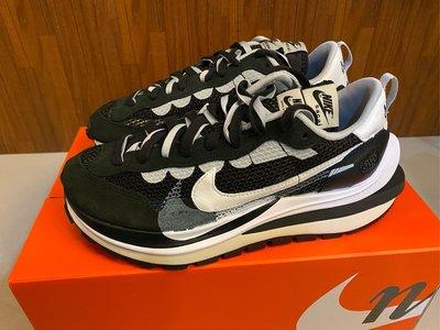 【S.M.P】sacai x Nike Vaporwaffle Black/White 黑白 CV1363-001