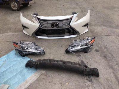 Lexus es250 es200 es300h 前保 保桿 舊改新 中網