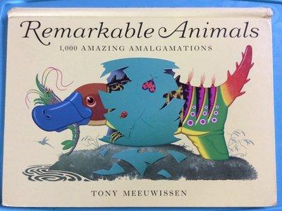 外文書 Remarkable Animals: 1000 Amazing Amalgamations 超聰明張冠李戴動物