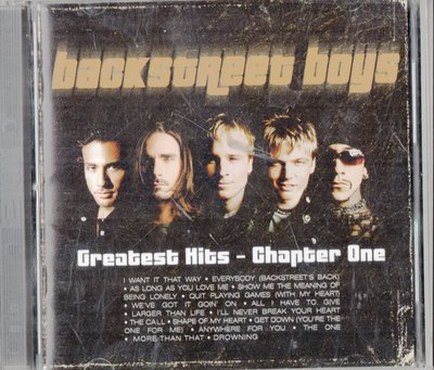 Backstreet Boys--Greatest Hits-Chapter One
