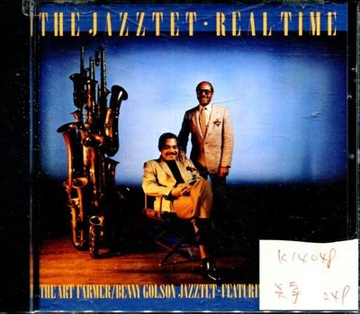 *真音樂* THE JAZZTET REAL TIME 美版 全新 K14048