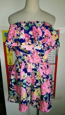 initial J 花花連身褲裙裝(63)