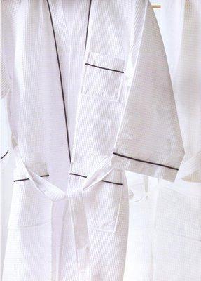 居家家飾設計 日式和服浴袍 華芙格 白