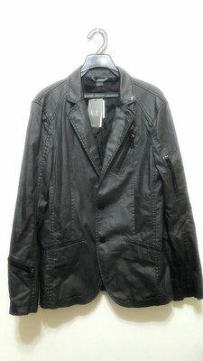 全新 A|X Armani Exchange 西裝外套雅痞款 可變立領騎士外套 兩穿 S號 原價8990 小版男裝 時尚