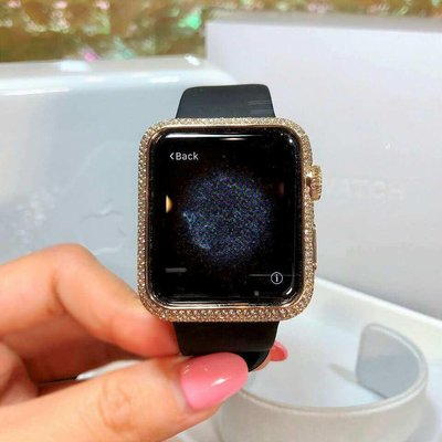 Jacob & Co. 捷克豹 [NEW][LIMITED] Rose Gold Pave Diamonds 40mm Ladies Apple Watch