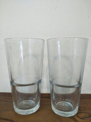 ~菓7漫5咖啡~可疊強化玻璃杯 372cc P-52112 玻璃杯 果汁杯 飲料杯 咖啡杯 玻璃咖啡杯 杯子 水杯 茶杯