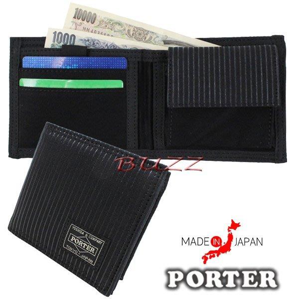 巴斯 日標PORTER屋-現貨 PORTER DRAWING 二折皮夾-短夾 650-08615