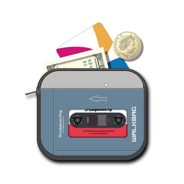 WalkMan 音樂隨身聽 卡片包/錢包/悠遊卡/皮夾 (致敬最經典Sony WM-EX677 隨身聽)