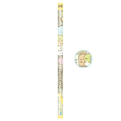 角落生物SumikkoGurashi 2B鉛筆,三角鉛筆組/鉛筆/自動鉛筆/筆芯/幼兒鉛筆,X射線【C756310】