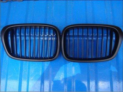 {阿勳精品}~ 寶馬 BMW E39 超優質 A級 外銷款 消光黑 水箱護罩 水箱罩