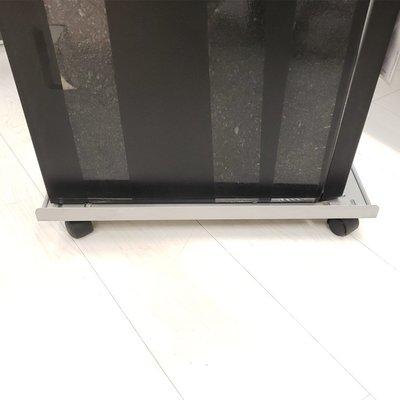 古德馬電腦主機托架底座臺式電腦主機箱架帶滑輪