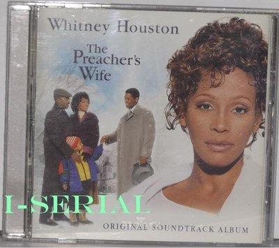 正版CD/OST/ THE PREACHER′S WIFE / 惠妮休斯頓之天使保鑣 電影原聲帶(鍍金片, 音質清晰)