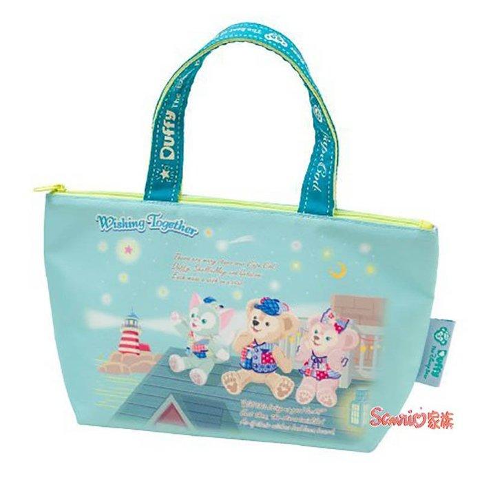 《東京家族》海洋迪士尼 15周年慶紀念商品 達菲熊 雪莉玫 畫家貓 許願在一起 保溫便當袋 手提袋