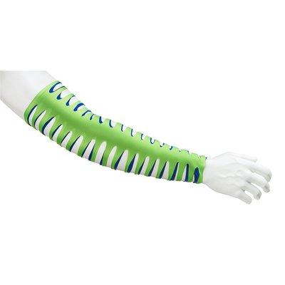 [美國瘋潮]正版WWE Jeff Hardy Green & Navy Arm Sleeves 綠藍雙色造型腕套袖套特價