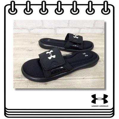 【Drawer】出清UNDER ARMOUR IGNITE IV SLIDE 拖鞋 黑色 運動拖鞋 UA 美國購入