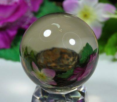 孟宸水晶 = A9030  (100%天然超清透茶水晶球295克)
