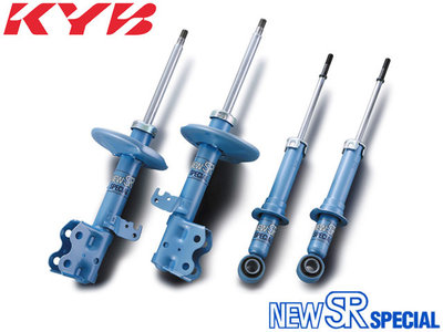 【Power Parts】KYB NEW SR 藍筒 避震器 TOYOTA WISH Z 2004-2009