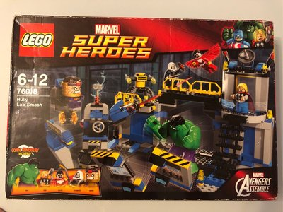 Lego 76018 Avengers Hulk Lab Smash Marvel Super Heroes