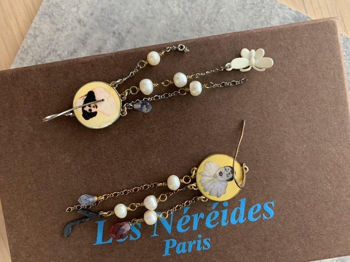 法國真品 Les Nereides 嘉年華 長垂耳環 (一對950元) /N2