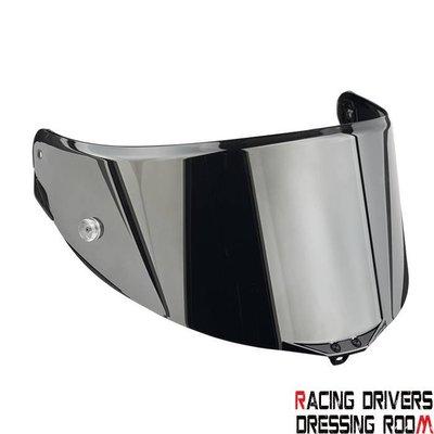 ♚賽車手的試衣間♚ AGV® AGV PISTA GP-CORSA IRIDIUM SILVER VISOR 鏡片 電鍍
