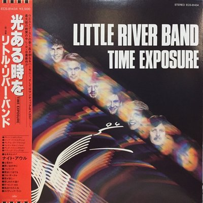 §小宋唱片§ 日版/Little River Band – Time Exposure/二手西洋黑膠