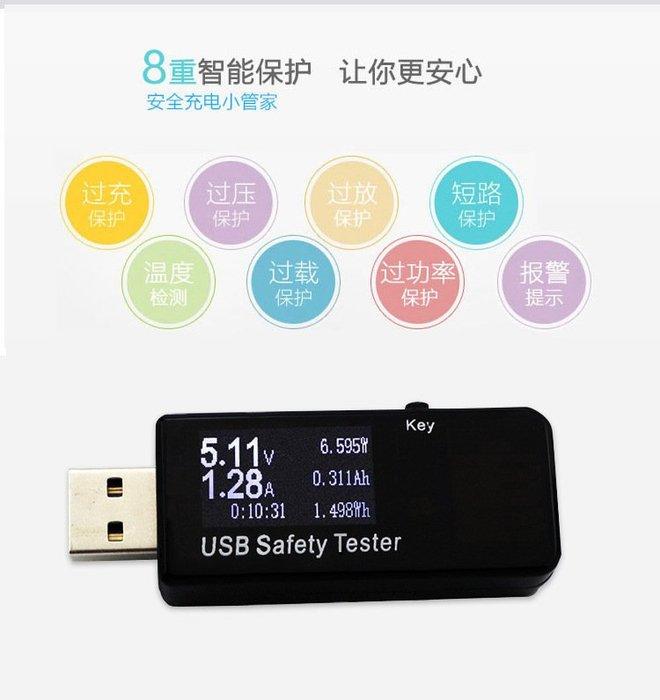 17+ USB電表,充電檢測器 QC3.0快充,可設定 電壓 電流 定時,計時功率瓦時內阻 容量毫安時 過流過壓