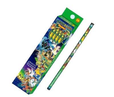【胖兔兒精選】日本製 神奇寶貝 POKEMON 鉛筆 寶可夢 超夢 噴火龍 銀軸 劍與盾款 六角鉛筆 開學 文具 國小