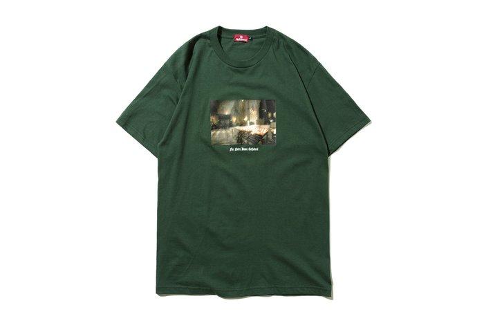 "[ LAB Taipei ] HELLRAZOR "" NOTRE DAME SHIRT "" (Green)"