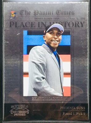 SHAWN MARION 2009-10 CONTENDERS #11 THE PANINI TIMES 特卡 太陽隊