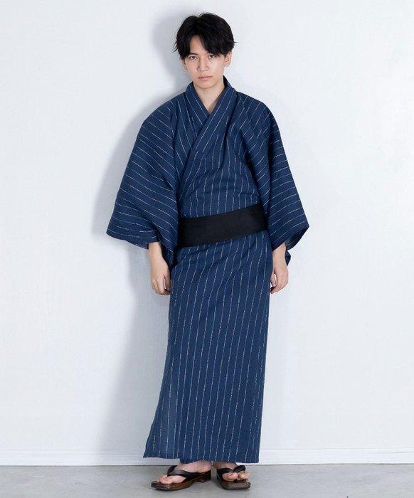 05日本棉麻 和服男正裝 夏日祭 浴衣 傳統套裝 武士經典花紋
