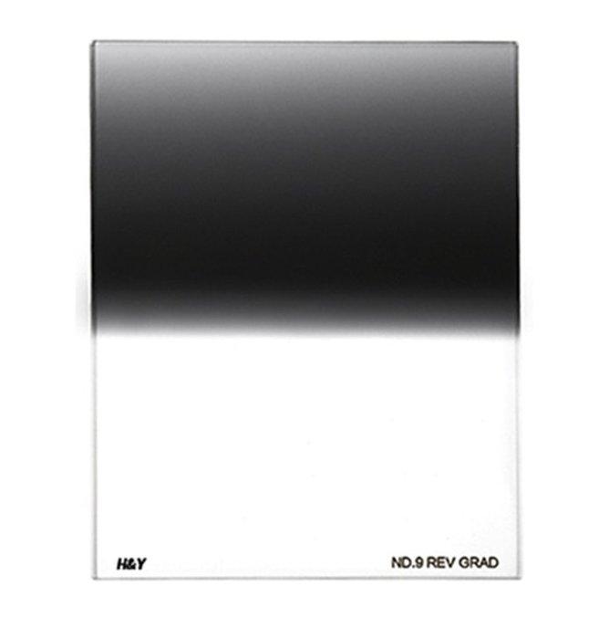 呈現攝影-H&Y R-GND 反向漸層減光鏡 ND16 100X125 玻璃漸層鏡 無色偏 抗水防油漬 鍍膜