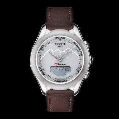 Tissot 天梭少女峰鐵路百年紀念系列皮帶石英女腕錶 T0752201601110