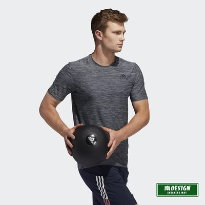 南◇2020 8月 ADIDAS ALL SET 短T 排汗 透氣 FL8478  灰  跑步 健身 運動短袖上衣 男款