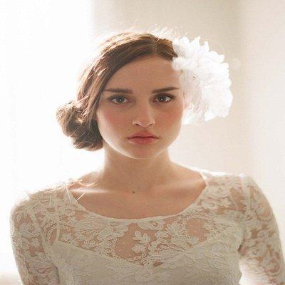 新秘飾品 新娘飾品 新娘秘書 新娘髮飾 新娘頭飾 新娘包 禮服 新娘頭紗 新秘 婚紗 新娘飾品【Z-706】頭花