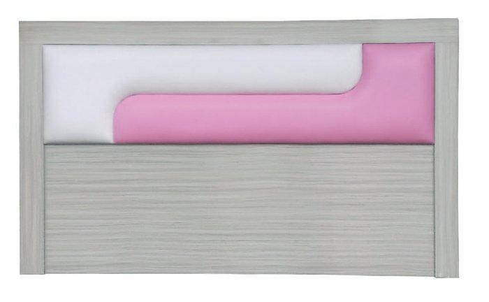 【南洋風休閒傢俱】精選時尚床片 雙人床頭片-新潮木心板床片 5尺 粉白CY106-43