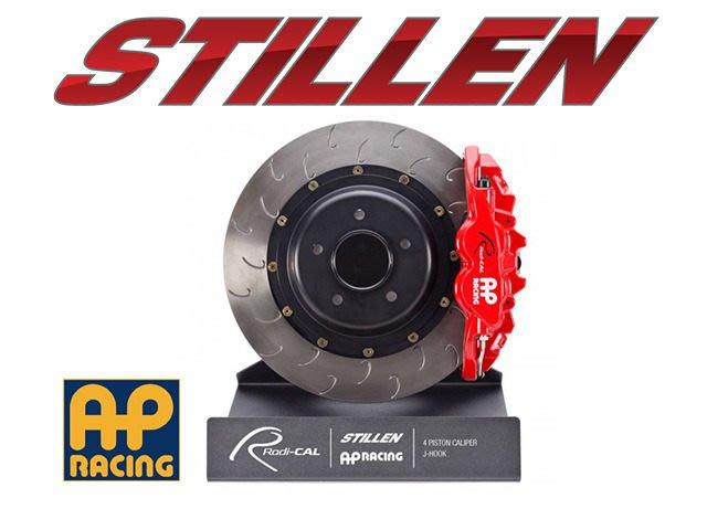美國 STILLEN AP Racing 前 四活塞 卡鉗 劃勾 VW Golf GTI VII 14+ 專用