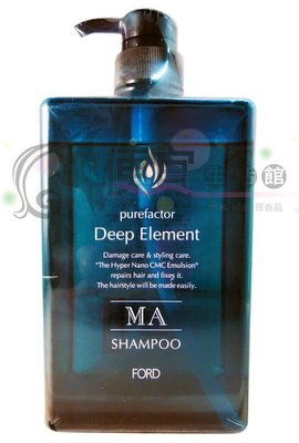 便宜生活館【洗髮精】日本FORD 綠晶MA洗髮精-水潤柔順1000ml 特價1600 水潤修護好整理