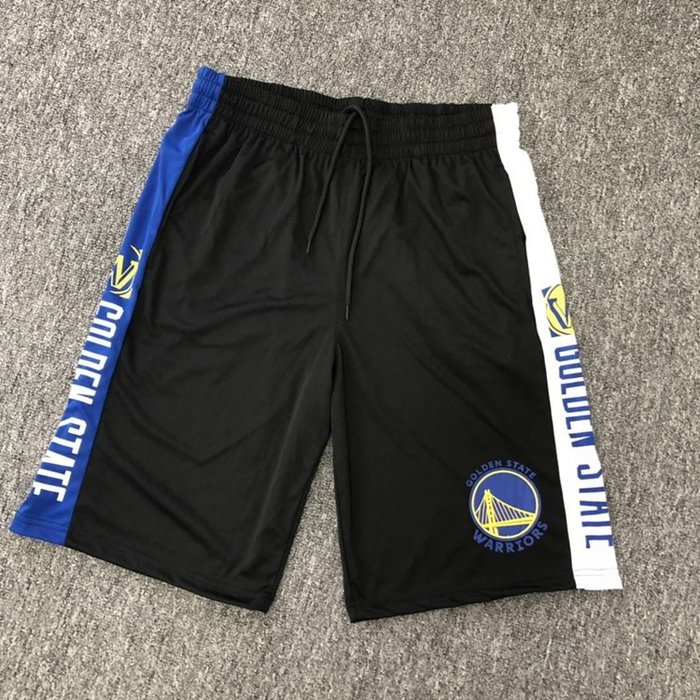 NBA籃球短褲 金州勇士隊 CURRY  口袋版 運動籃球褲 正版