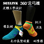 MIT微笑標章【SOXLINK排汗消臭氣墊足體工學...