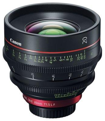 九晴天(租電影鏡頭,租鏡頭) Canon CN-E 20mm T1.5 (EF)