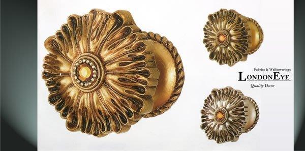 【LondonEYE】維多莉亞 英國宮廷風掛座 ‧鑲嵌寶石金屬壁掛‧輕奢華首選