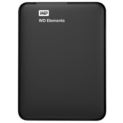 "《SUNLINK》WD Elements Portable 2.5"" 2TB USB3.0 外接式行動硬碟"