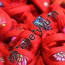 結婚  禮物 回禮 同諧白首 小鞋子電話繩  袖珍童鞋掛飾 (一對連七彩玲璫) 荃灣現貨