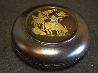 丁香之家-雞翅木特別的鑲銅十二生肖盤