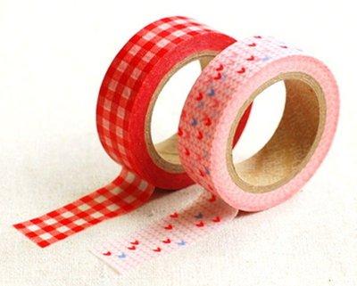 *YOOWOO*【韓國空運 Decorate YOUR item 多功能裝飾 15mm 和紙膠帶貼紙 ~ Candid】