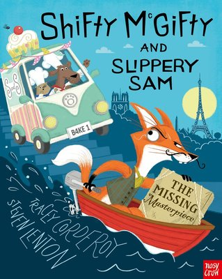 *小貝比的家*SHIFTY McGIFTY AND SLIPPERY SAM:THE MISSING MASTERPIE